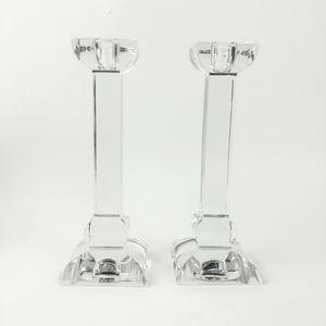 Vtg Villeroy & Boch Austrian crystal candlesticks